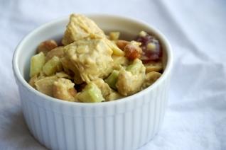 Salad - Curry Chicken w/almonds